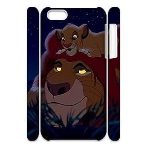 C-EUR Diy 3D Case Lion King Diy For LG G2 Case Cover