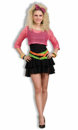 Forum Novelties Women's 80's Groupie Costume