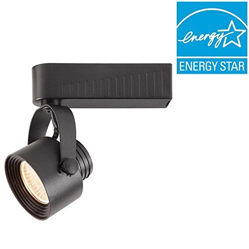 Black Dimmable Led Track Gimbal