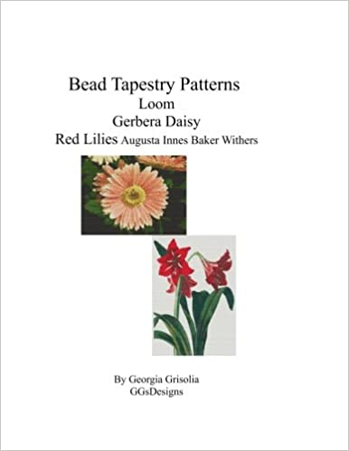 Bead Tapestry Patterns Loom Gerbera Daisy Red Lilies Georgia