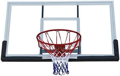 バスケットボールフープラージサイズティーンズバスケットボールリムゴール壁に取り付けられた3ステップレイアップ大人用屋外バスケットボールスタンド137x81cm