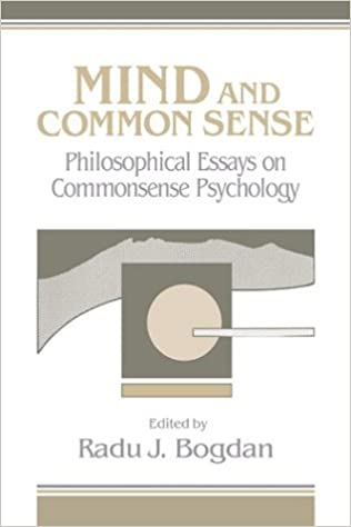 com mind and common sense philosophical essays on common  mind and common sense philosophical essays on common sense psychology