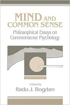 com mind and common sense philosophical essays on common mind and common sense philosophical essays on common sense psychology