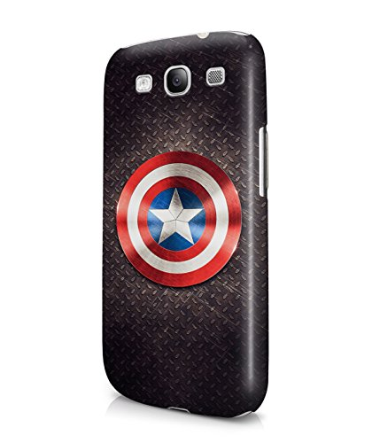 Captain America The Avengers Shield Superhero Plastic Snap-On Case Cover Shell For Samsung Galaxy S3