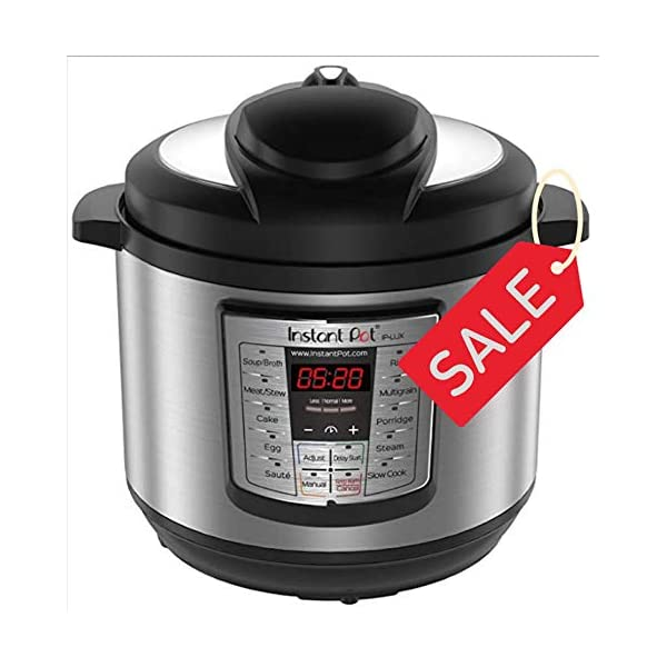 NEW Instant Pot LUX-800 8Quart Pressure Cooker, Steamer, Slow Cooker, Rice Cooker 1
