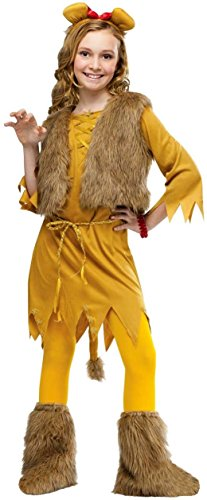 [Lion Kids Costume - Small] (Woman Lioness Costume)
