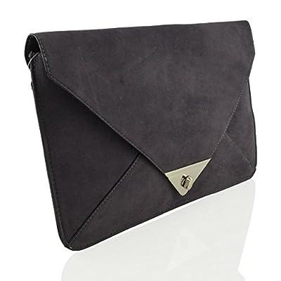 Essex Glam Synthetic Envelope Evening Handbag