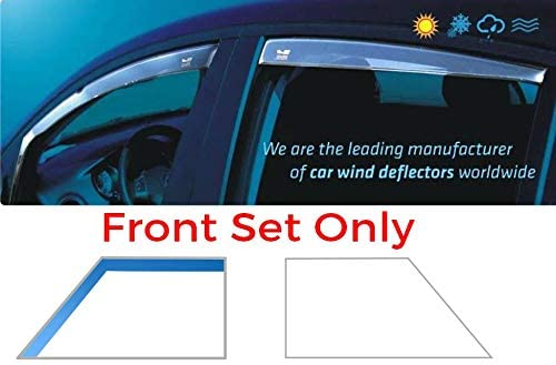 Only for the 5 Doors Model Heko WD15303-9853 Pair of Front Wind Deflectors Heko Tinted Easy to Fit