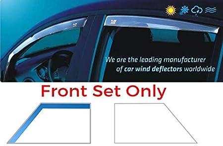 Front /& Rear Full Set of 4 Heko Wind Deflectors Only for the 5 Doors Model Heko WD15137-5055