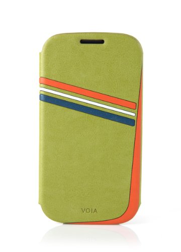 VOIA SG-430GRN Case for Samsung Galaxy S3 - 1 Pack - Retail Packaging - Lime Green (Lime Galaxy Samsung Case Green S3)