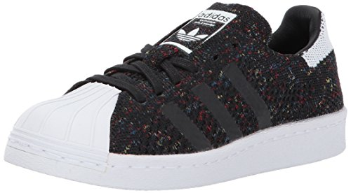 adidas Originals Men's Superstar 80s Pk Shoes, Cblack/Ftwwht/Ftwwht, (11 M US)