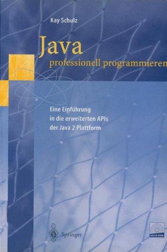 Java professionell programmieren: Eine Einführung in die erweiterten APIs der Java 2 Plattform