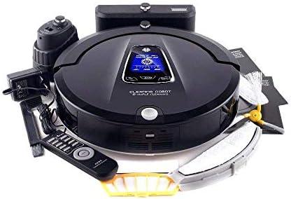 SEESEE.U Robot de Nettoyage Programme de Robot aspirateur Multifonction Le Plus avancé, bloqueur virtuel, Auto-Charge, aspirateur