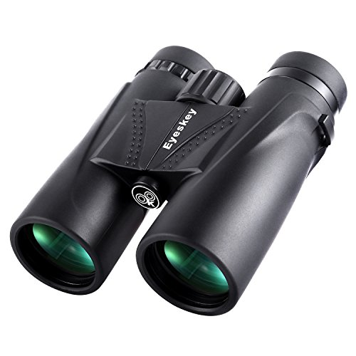 Eyeskey 8X42 Hunting Binoculars for Adults | Lightweight and Compact | Fully Multi-Coated Bright Images | Waterproof Fog Proof | Roof Prism Binos for Hunters Nature Whale Watching