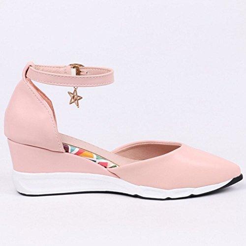 3 Melady Donne Casual Zeppa pink Sandali wRCx8