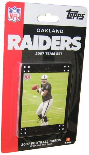 Topps NFL - Juego de cartas de fútbol 2007 Oakland Raiders ...