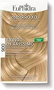 Euphidra Color Pro XD 900 Coloración permanente sin amoniaco, rubio muy claro