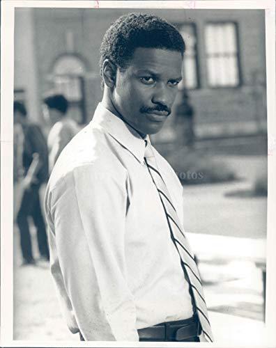 Vintage Photos 1989 Photo Denzel Washington Actor Celebrity Director Producer Awards Globe 7x9