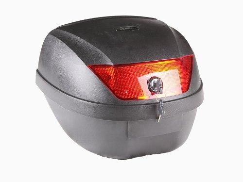 Topcase HF-880 schwarz, 30 Liter, Koffer, Tasche für Motorroller