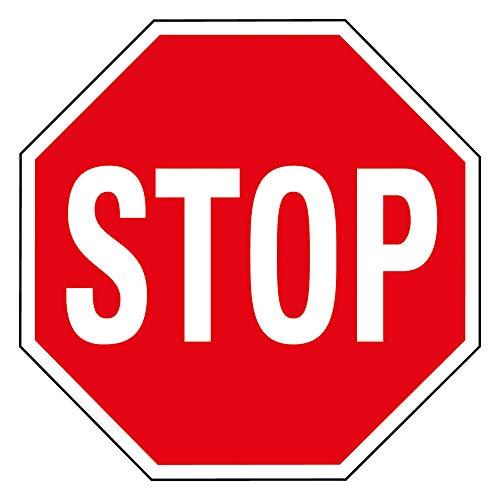 PREMARK Bodenmarkierung Stop-Zeichen, Ø 100 cm