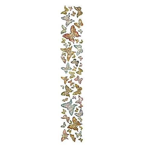 Sizzix Sizzlits Decorative Strip Die by Tim Holtz, Butterfly Frenzy - Singles Sizzix Sizzlits