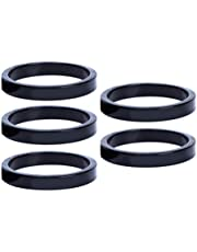 BESPORTBLE 5pcs Headset Spacers Aluminium Alloy 2MM Mountain Bike Road Bicycle Stem Spacers Bicycle Accessories
