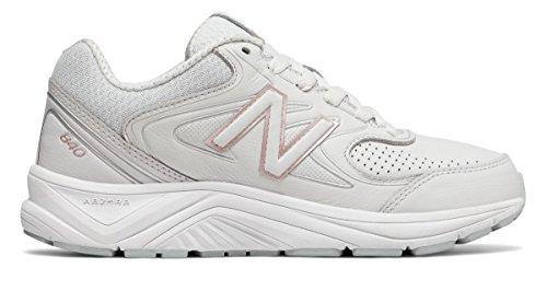 (ニューバランス) New Balance 靴?シューズ レディースウォーキング New Balance 840v2 White with Rose Gold ホワイト ローズ ゴールド US 8.5 (25.5cm)