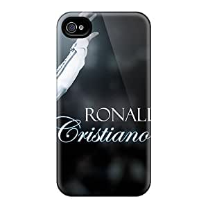 Iphone 4/4s Case, Premium Protective Case With Awesome Look - Footballer Cristiano Ronaldo