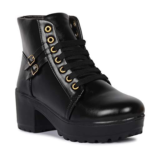 Bella Toes Women's Ankle Length Heel Boot-8632