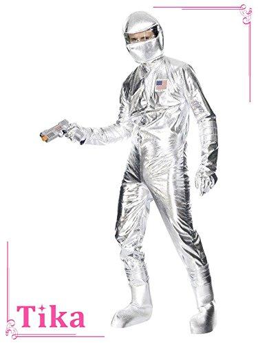 【日本製】 メンズコスプレ Lサイズ Tika シルバー ティカ 4点set スペースマンコスチュームセット (ジャンプスーツ+頭被り物+グローブ+ブーツカバー) シルバー シルバー Lサイズ la-hwm30821 Lサイズ シルバー B07G2CPXTF, メディアショップ ハイジ:a06a35ed --- a0267596.xsph.ru