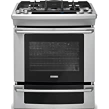 """Electrolux EW30GS75KSWave-Touch 30"""" Stainless Steel Gas Slide-In Sealed Burner Range - Convection"""