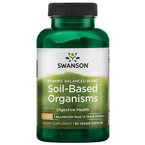 Swanson Soil-Based Organisms 5 Billion Cfu 90 Veg Caps