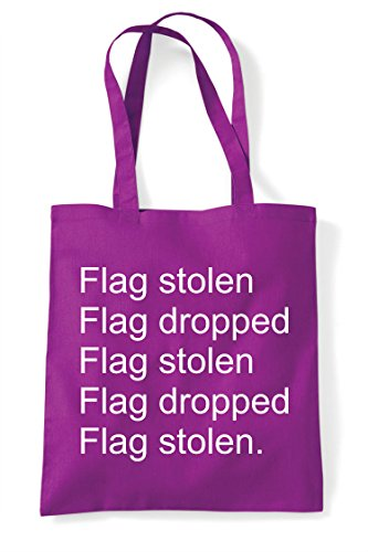 Bag Capture Tote Stolen Statement Magenta Dropped The Pvp Repeat Multiplayer Gaming Mode Flag Online Shopper xY4aqPq7