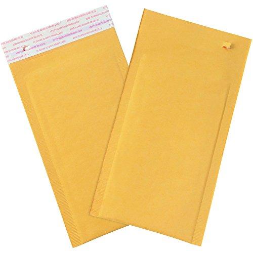 Partners Brand PB852SSRTT  Self-Seal Bubble Mailers w/Tear Strip, #00, 5