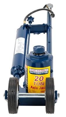 Hein-Werner HW93731 Blue Air/Hydraulic Truck Jack - 20 Ton Capacity