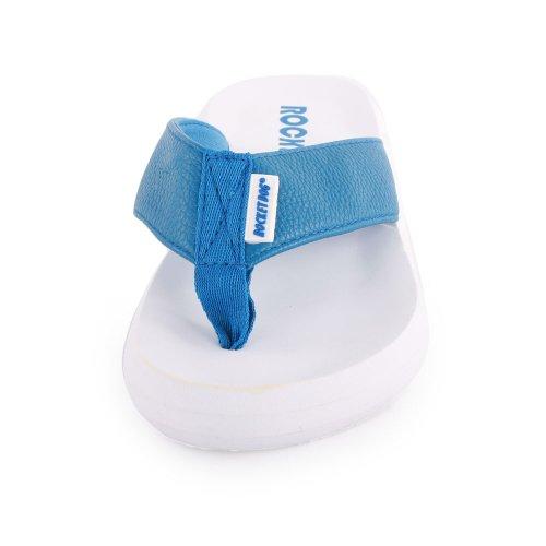 Schwarz Dog Rocket Sandale aus Leder Blau Pink Blau Spotlight Flip Flop qFwHAfq