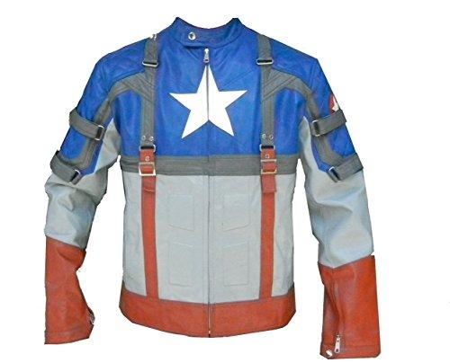 motorcycle jacket captain america - 9