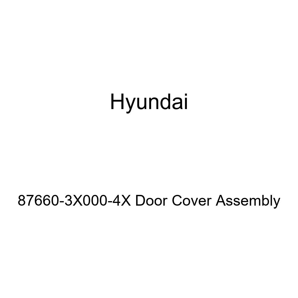 Genuine Hyundai 87660-3X000-4X Door Cover Assembly