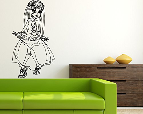13 Desires of Frankie Stein Wall Art Cartoon Monster High Wall Vinyl Decal Home Interior Decor Girls Boys Room Design mh19]()