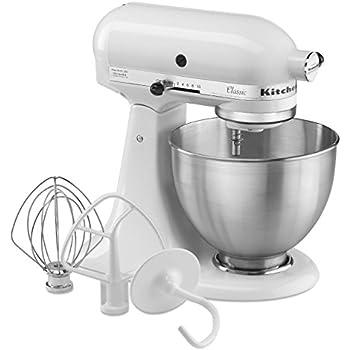 amazon com kitchenaid 4 1 2 quart ultra power stand mixer grey