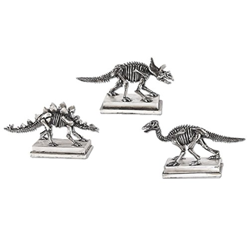 Uttermost Jurassic Silver Figures (Set of 3)