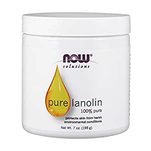 NOW Lanolin Pure, 7-Ounce