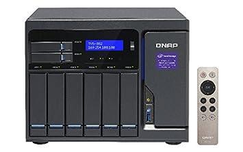 QNAP TVS-882 Ethernet Torre Gris NAS - Unidad Raid (Unidad de ...