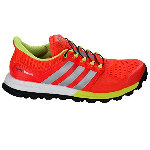 Adidas Adistar Raven Boost Women's Zapatilla De Correr Para Tierra - AW15 Rojo