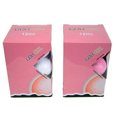 Golf Girl 12 PINK New Titanium Golf Balls
