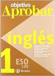 Objetivo aprobar ingles 1º eso Castellano - Material