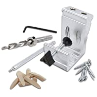 Deals on 76-Piece General Tools 850 Heavy Duty Pocket Hole Jig Kit