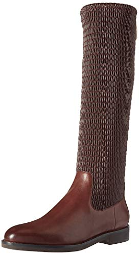 Cole Chocolate Haan (Cole Haan Women's Lexi Grand Stretch Boot Mid Calf, Bitter Chocolate Leather, 9 B US)