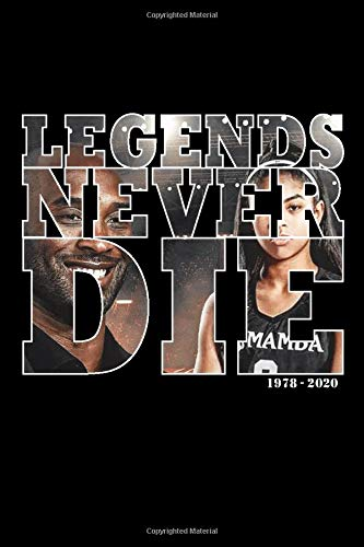 Legends Never Die Kobe Gigi Notebook In Memory Of Kobe Bryant Rest In Peace Legend Basketball Notebook College Ruled Journal Publishing Kobe 9798605692331 Amazon Com Books