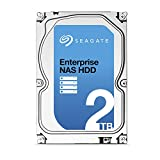 Seagate 2TB Enterprise NAS Hard Disk Drive SATA 6Gbps 128 MB Internal Bare Drive with Rescue Data Recovery Services (ST2000VN0011)